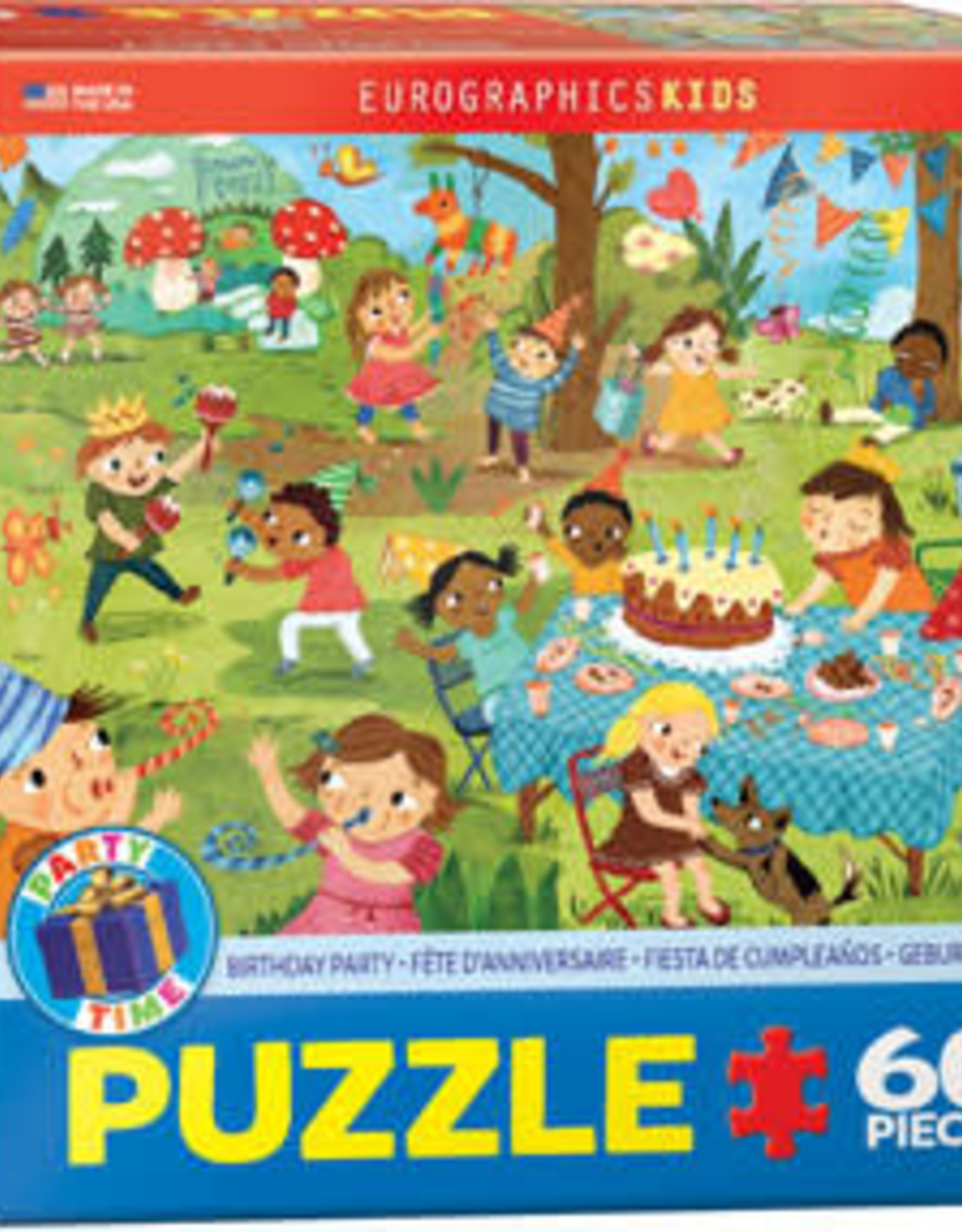 Eurographics Inc Birthday Party 60pc Puzzle