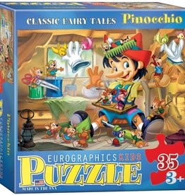 Eurographics Inc Pinocchio 35pc Puzzle