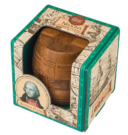 Professor Puzzle Nelson's Barrel Wooden Puzzle