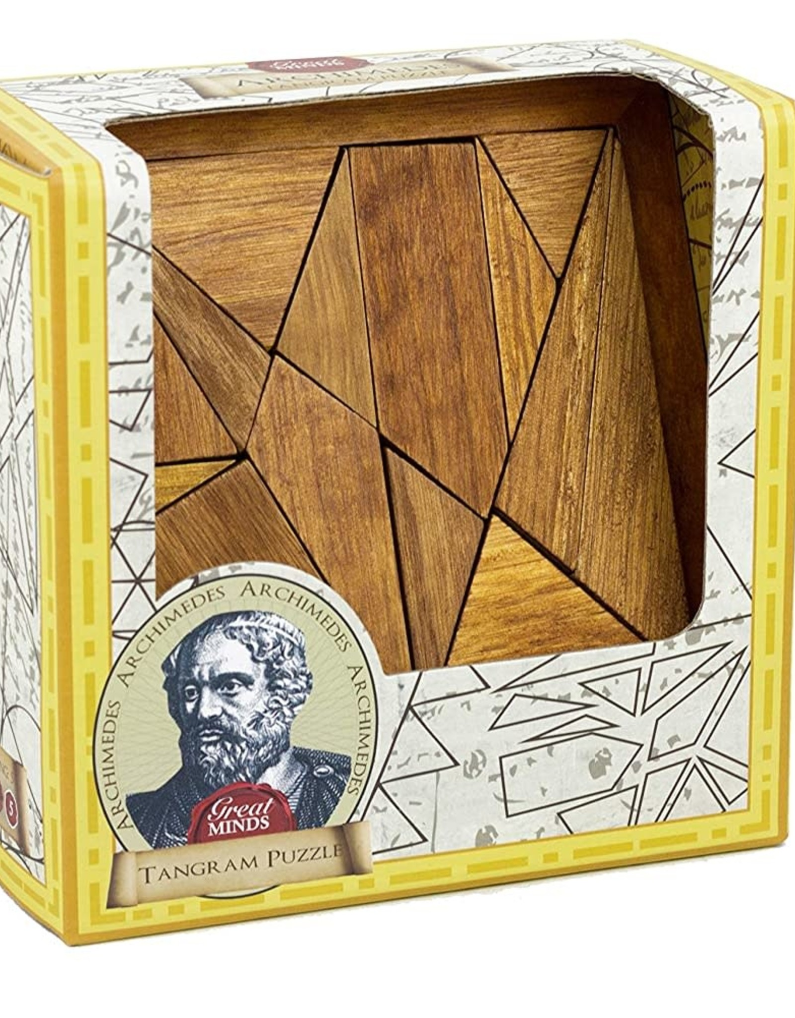 Professor Puzzle Archimedes' Tangram Wooden Puzzle