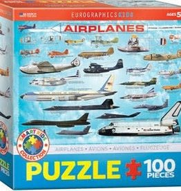 Eurographics Inc Airplanes 100pc Puzzle