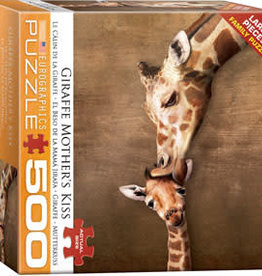 Eurographics Inc Giraffe Mother's Kiss 500pc Puzzle