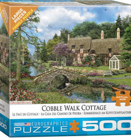 Eurographics Inc Cobble Walk Cottage 500pc Puzzle