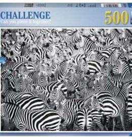 Ravensburger Zebra Challenge 500pc Puzzle