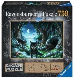 Ravensburger ESCAPE The Curse of The Wolves 759pc puzzle