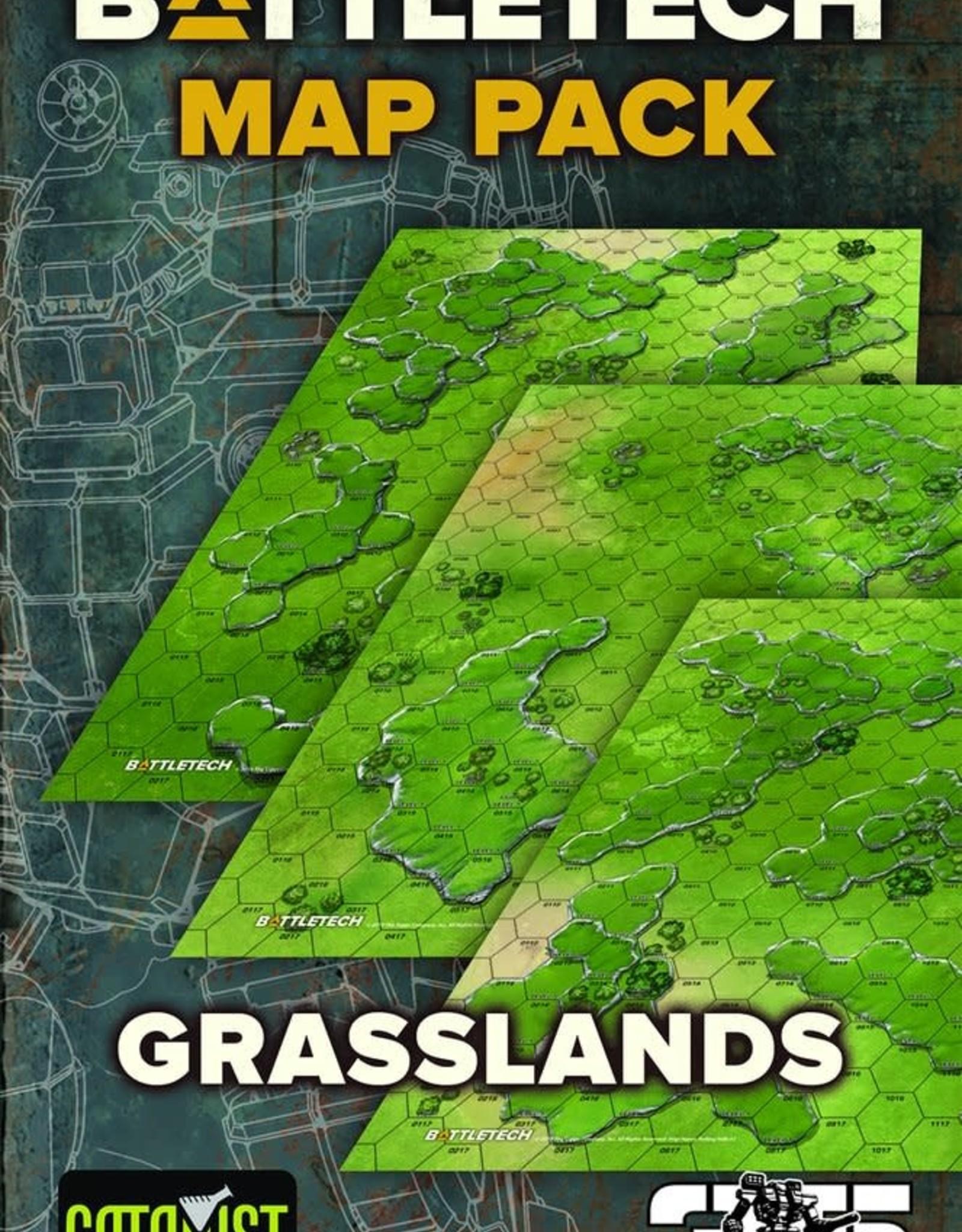Catalyst Battletech: Map Set Grassland