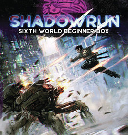 Catalyst Shadowrun RPG: 6th Edition Beginner Box