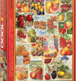 Eurographics Inc Fruits - Seed Catalogue 1000pc puzzle