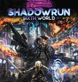 Catalyst Shadowrun RPG: 6th Edition Core Rulebook (Sixth World)