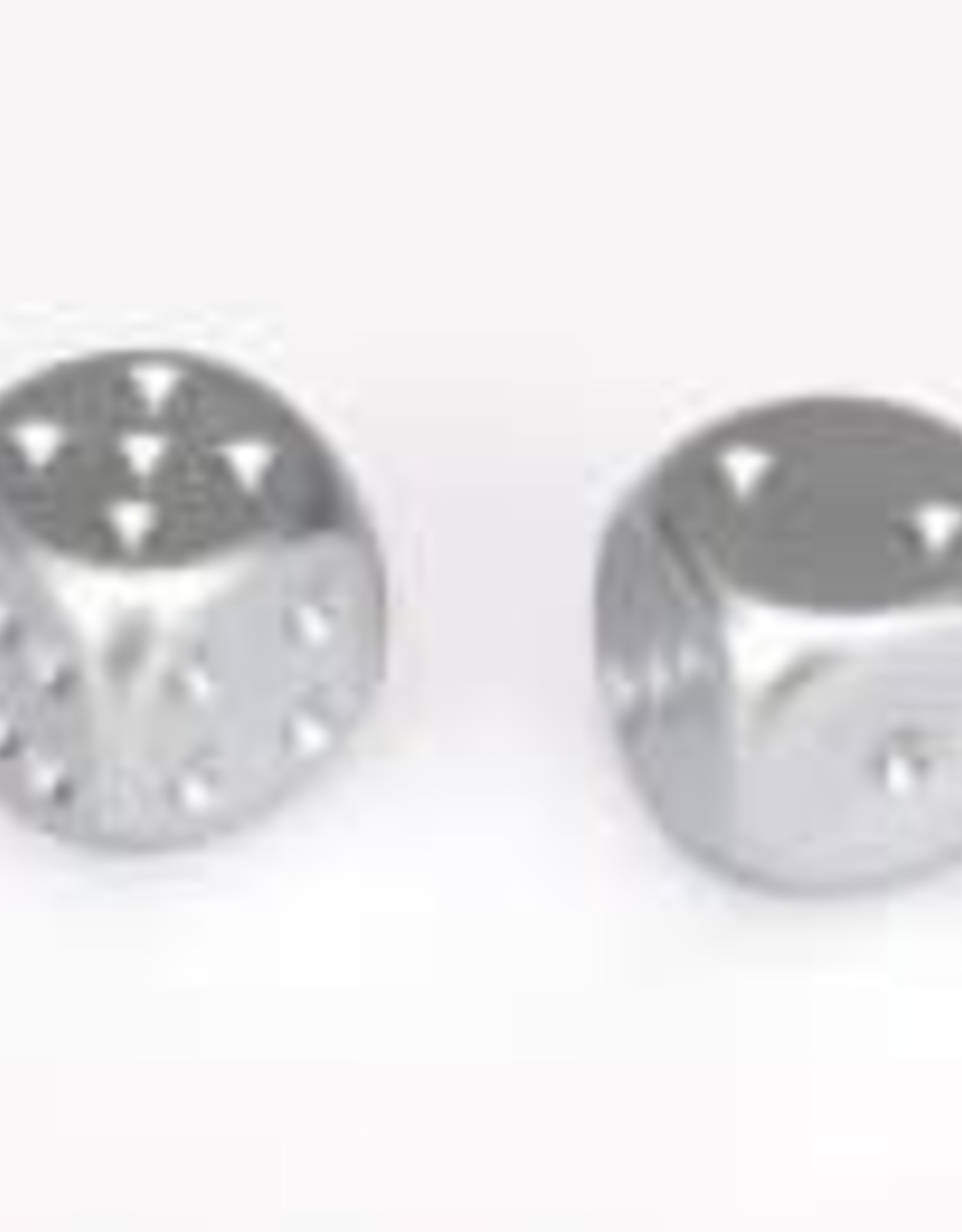 Chessex 2 Aluminum Plated 16mm d6