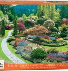 Eurographics Inc Sunken Garden - Butchart Gardens 1000pc Puzzle
