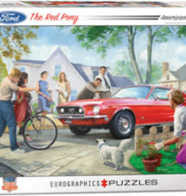 Eurographics Inc The Red Pony 1000pc Puzzle