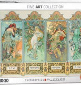 Eurographics Inc Four Seasons 1000pc Puzzle
