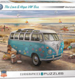 Eurographics Inc The Love & Hope VW Bus 1000pc Puzzle