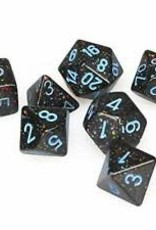 Chessex Blue Stars Speckled Poly 7 dice set