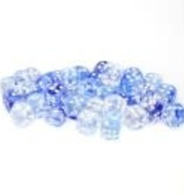 Chessex Dark Blue/white Nebula 12mm d6 dice set