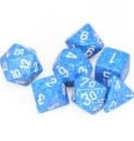 Chessex Water Speckled Poly 7 dice set