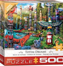 Eurographics Inc Totem Dreams 500pc Puzzle