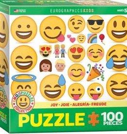 Eurographics Inc Joy - Emoji 100pc Puzzle