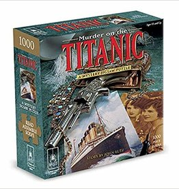 Bepuzzled Murder on the Titanic-Classic Mystery Jigsaw