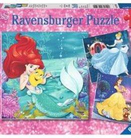 Ravensburger Princesses Adventure (3 x 49 pc Puzzles)