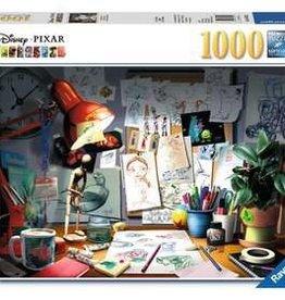 Ravensburger Disney The Artist's Desk 1000 pc Puzzle