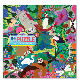 Eeboo Sloths at Play 64 pc puzzle