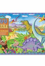 Eeboo Age of the Dinosaur 100pc Puzzle
