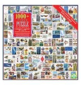 Eeboo Curiosity Cabinet of Facts 1008Pc Puzzle