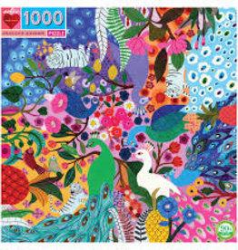 Eeboo Peacock Garden 1000 Piece Puzzle