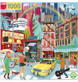 Eeboo New York City Life 1000pc puzzle
