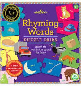 Eeboo Rhyming Words Puzzle Pairs