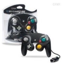 CirKa Wired Controller For GameCube®/ Wii® (Black)