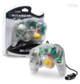CirKa Wired Controller For GameCube®/Wii® (Clear)