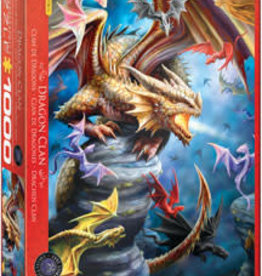 Eurographics Inc Dragon Clan 1000pc Puzzle