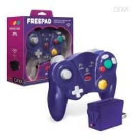 "CirKa ""Freepad"" Wireless Controller For GameCube® (Purple)"