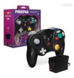 "CirKa ""Freepad"" Wireless Controller For GameCube® (Black)"