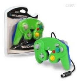 CirKa Wired Controller For Wii® / GameCube® (Green/ Blue)