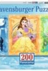Ravensburger Beautiful Disney Princesses 200 pc Panorama Puzzle