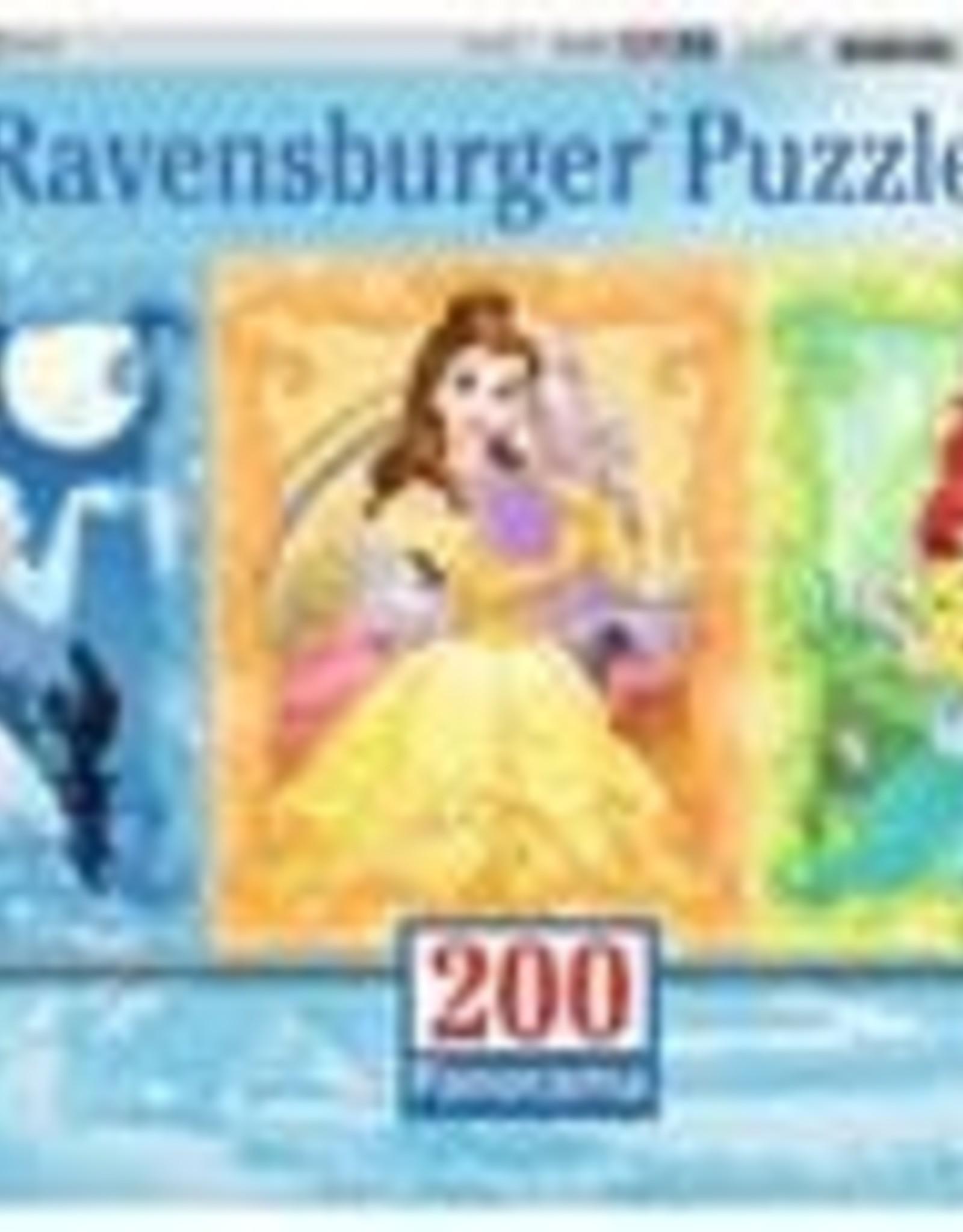 Ravensburger Beautiful Disney Princesses 200pc Panorama Puzzle