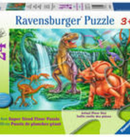 Ravensburger Dino Falls Floor Puzzle 24pc