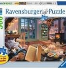 Ravensburger Cozy Retreat 500pc Puzzle