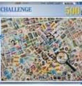 Ravensburger Stamps Challenge 500pc Puzzle
