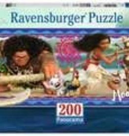 Ravensburger Moana's Adventure 200 pc Panorama Puzzle