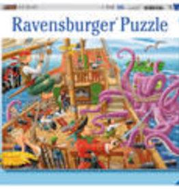 Ravensburger Pirate Boat Adventure 100pc Puzzle