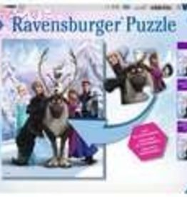 Ravensburger The Frozen Difference 100 pc Puzzle