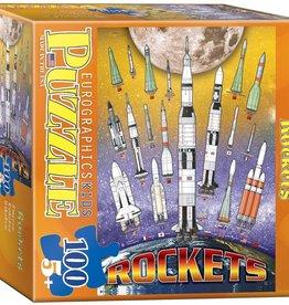 Eurographics Inc Rockets 100pc Puzzle