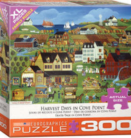 Eurographics Inc Harvest Days in Cove Point 300pc Puzzle