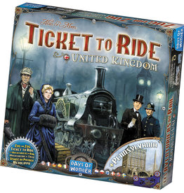Days of Wonder Ticket To Ride: Map Collection V5 - United Kingdom and Pennsylvania