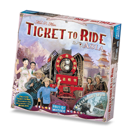 Days of Wonder Ticket To Ride: Map Collection V1 - Asia
